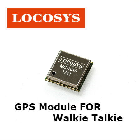 recommend gps module for walkie talkie